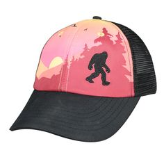 Headsweats - Trucker Hat Sasquatch, $24.00 (http://www.headsweats.com/trucker-hat-sasquatch/)