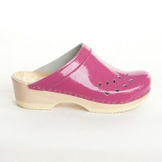 I love the convenience of slip ons and how cute are these pink patent leather?