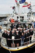 The faces of Sea Scouting