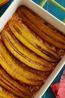 Chiquita Baked Sweet Plantains.  So excited to make since I bought my first plantains :)