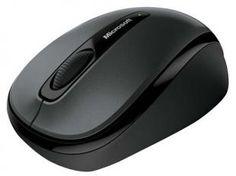 Mouse Óptico e Laser Sem Fio 100dpi - Microsoft GMF-00380