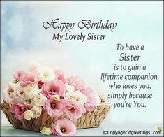 Excellent 19 Best Happy Birthday Sister Images Happy Birthday Sister Personalised Birthday Cards Paralily Jamesorg