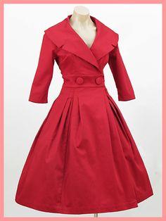 Red Vintage Dresses