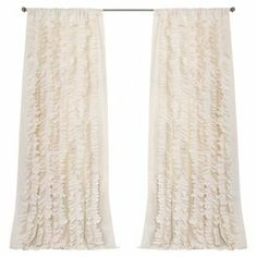 Paige Curtain Panel in Ivory