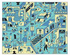 City Screenprints - Andy Rementer