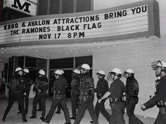 Ramones/Black Flag