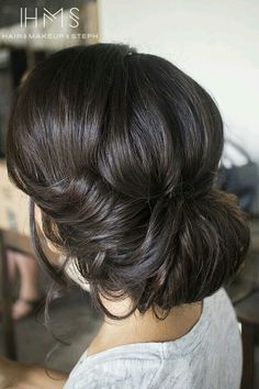 Up do for dark hair