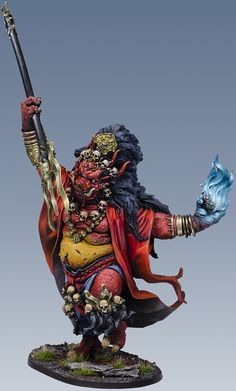 Painted Oni of Hate.