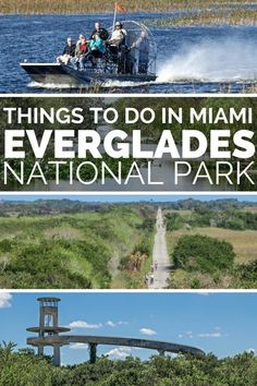 Things to do in Florida Everglades; Take an Airboat rides into the Miami Everglades. These Everglades airboat tours are the best wat to explore the Florida Everglades. Explore the Shark Valley oin the Miami Everglades National Park, one of the top things to do in Miami Florida.
