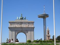 Moncloa in Madrid, Spain