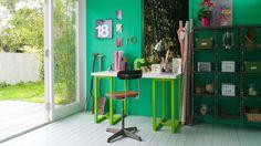 Marcá tendencia con verde esmeralda vivo + colores y productos