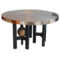 Center Table by Ado Chale | From a unique collection of antique and modern center tables at https://www.1stdibs.com/furniture/tables/center-tables/