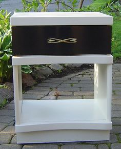 thefurbishedhome at etsy midcentry nightstand