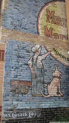Ghost signs around Chicago:  Marigold Margarine