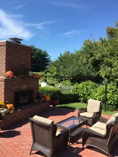 Come relax by our outdoor gas fireplace and enjoy the perennial gardens of the Kirkwood Inn.