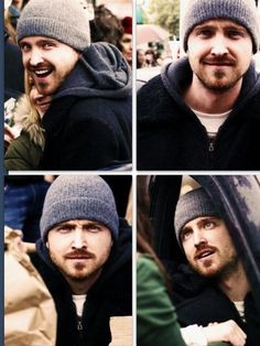 Aaron Paul  he is the cutest little man child i know