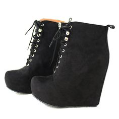 nella-black-suede-ankle boots