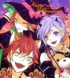 Diabolik Lovers Halloween-    ayato   diabolik lovers   kanato   laito   raito   sakamaki
