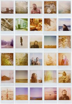 I want to print out pictures with a polaroid effect, and put them on my wall like this and write below each one of them Retro Photography, Camera Photography, Polaroid Decoration, Lovers Day, Mood Images, Old Cameras, Polaroid Pictures, Summer Memories, Summer Feeling