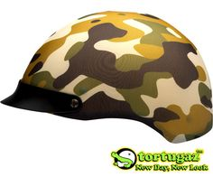 Tortugaz™ Universal DOT Motorcycle Bike Helmet Cover Protector Army Camouflage