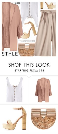 """""""Street Style"""" by pokadoll ❤ liked on Polyvore featuring Charlotte Russe"""