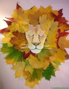 Ideas for fall nature crafts leaf art Nature Activities, Autumn Activities, Fall Crafts For Kids, Art For Kids, Kids Nature Crafts, Autumn Art Ideas For Kids, Kids Diy, Kids Crafts, Autumn Leaves Craft