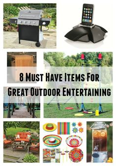 8 Must Have Items for Great Outdoor Entertaining