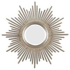 Reyes Wall Mirror, Silver
