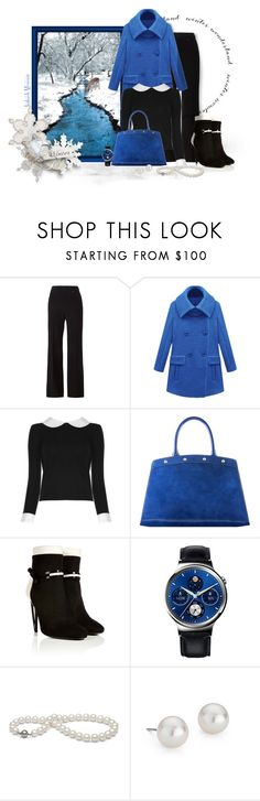 """""""Winter Wonderland"""" by jayhawkmommy ❤ liked on Polyvore featuring Chloé, Alice + Olivia, Fendi, Huawei and Blue Nile"""