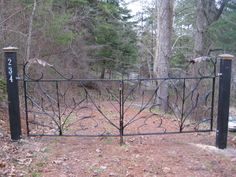 blacksmith iron gate