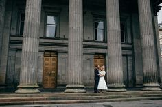 1950s Inspired Scottish Wedding captured by Christopher Currie - via ruffled