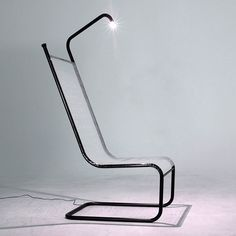 Modern chair with a hidden light.  hidden_light5