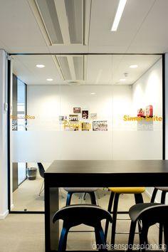Touch down / study - Spies' office in Copenhagen. Spaceplanning and interior design by Danielsen Spaceplanning.