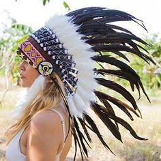 Indian Headdress & Arrow