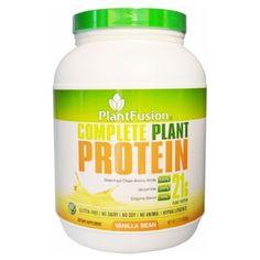 PlantFusion Plant Protein - Organic - Vanilla Bean - 3 lb