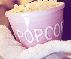 Purple popcorn, ñam!!
