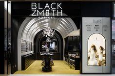 Blackzmith eyewear shop by STUDIO C8, Hong Kong