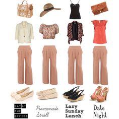 how to wear - palazzo pants