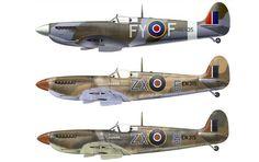 Supermarine Spitfire Mk IX Fighter BFD