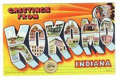 Greetings from Kokomo, IN