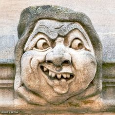 'Gargoyles and grotesques, creatures that form a significant part of Oxford's population, are a deeply eccentric part of the architecture - subversive, mocking and counter-culture.' Eccentric Oxford by Ben le Vay www.bradtguides.com