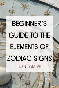 Everyone knows about zodiac signs but the elements behind each sign are important to understand as they form the natural world and depend on one another. In this post, learn the basics of all 4 elements! #TheGoddessPsyche #Astrology #Zodiac