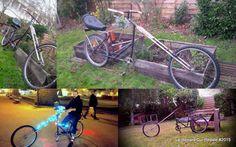 Capricorn,  home make bike from two vtt by #lerenardquipedale