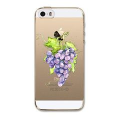 For Cell Phone Watermelon Fruits Case Cover For Apple iPhone 5 5s SE Case Silicone Soft Transparent Case For Mobile Phone