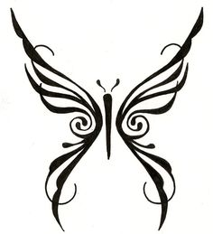 original design tribal butterfly tattoo. ginaleecincotta@gmail.com