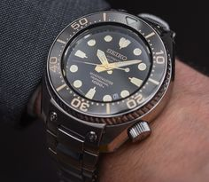 Seiko Marine Master Men's divers watches