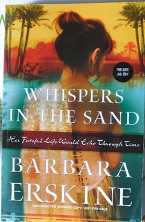 Books and Quilts: Whispers in the Sand by Barbara Erskine
