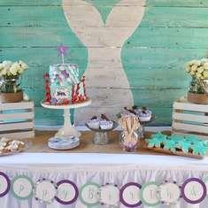 Nora's Magical Mermaid Birthday Party - Mermaids