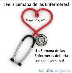 ¡Feliz semana de las enfermeras! Frases, Happy Nurses Week, Happy Birth Day, News