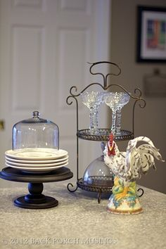 A beautiful vignette from Pat at Back Porch Musings.